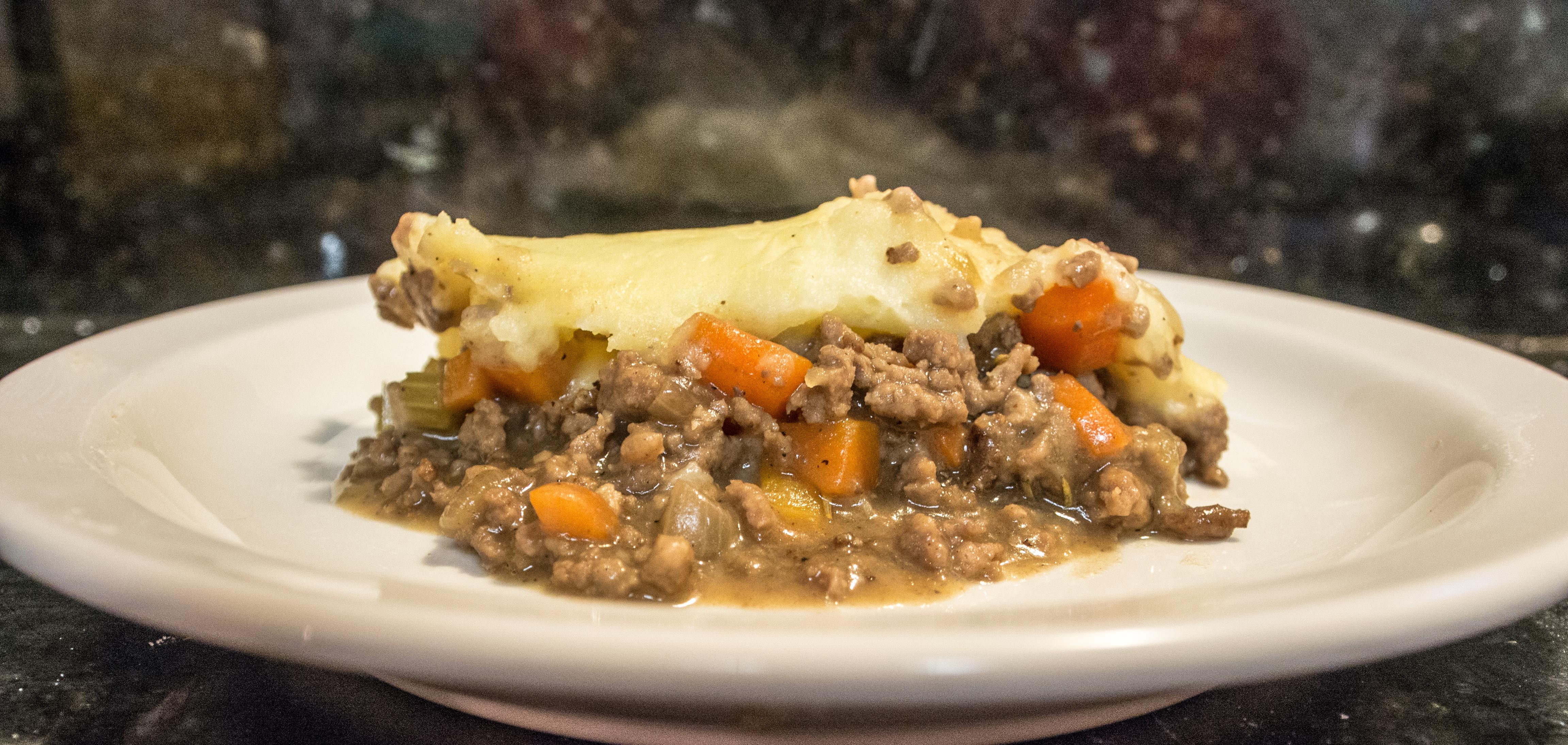 My Shepherd S Pie Disaster Dawn Of Food