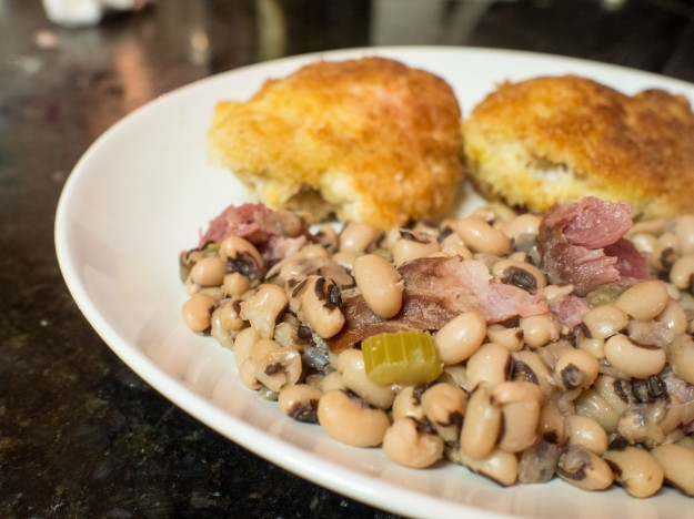 New Year's Day Blackeyed Peas